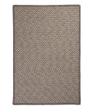 RugStudio presents Colonial Mills Natural Wool Houndstooth HD32 Latte Braided Area Rug